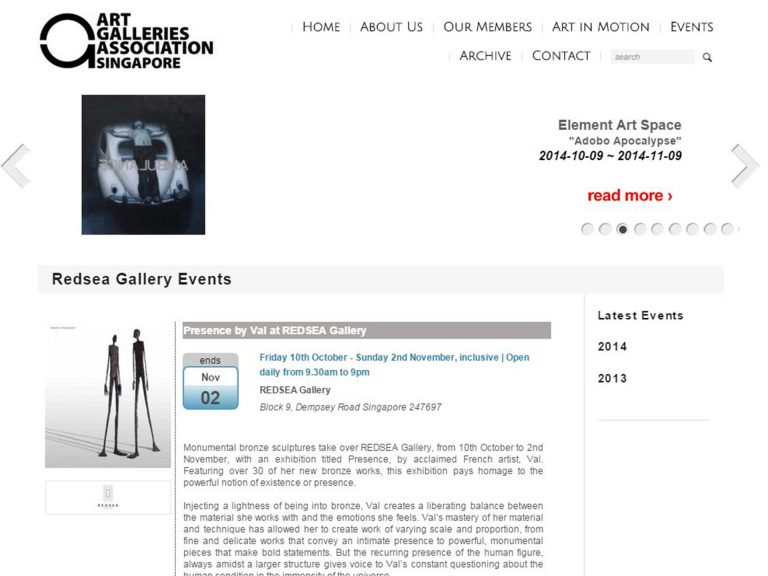 Val Art Galleries Association (Singapour)