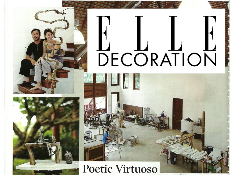 Elle Decoration (Thaïlande)  August 2013