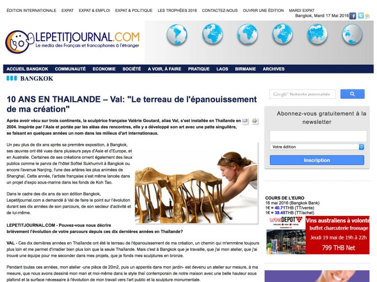 Val Le Petit Journal (International)