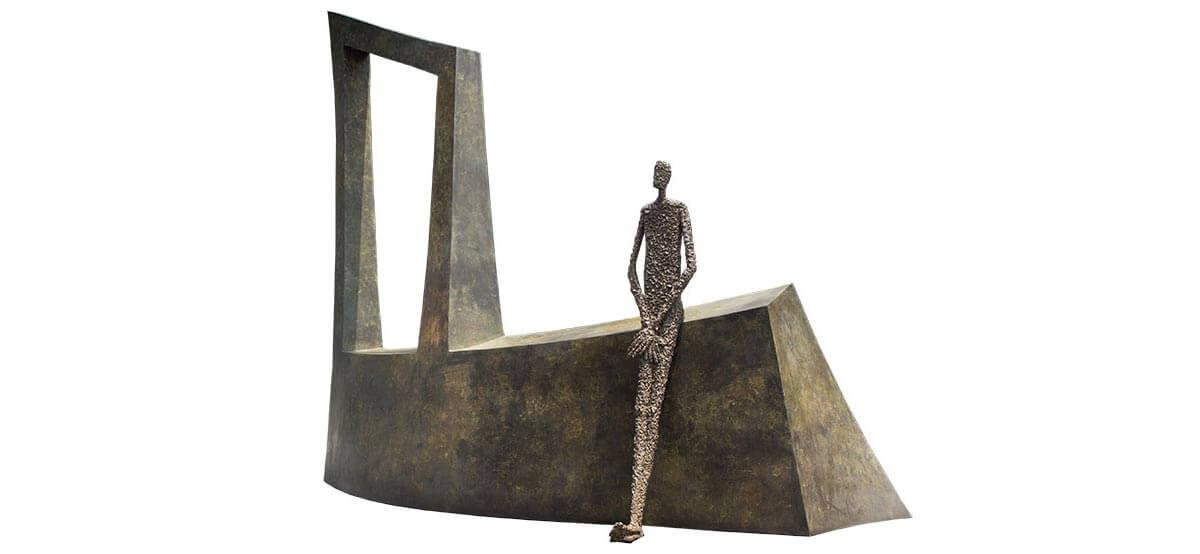 Waiting III (L487xH400xD191 cm) – bronze 2014