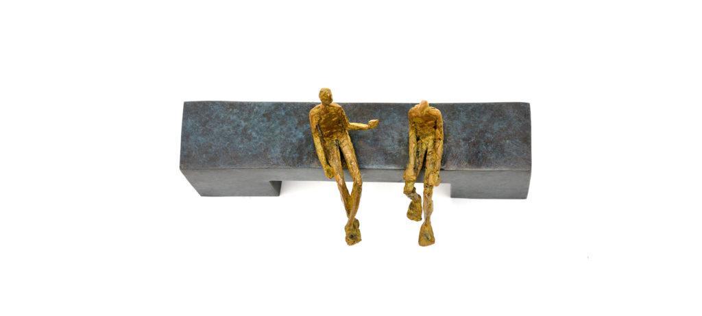 Conversation au parc de la sculpteure française Val – Valérie Goutard – avec Sculptureval