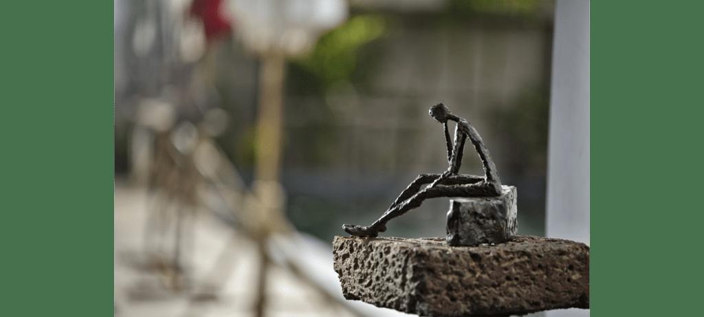 Soul mood de la sculpteure française Val – Valérie Goutard – avec Sculptureval