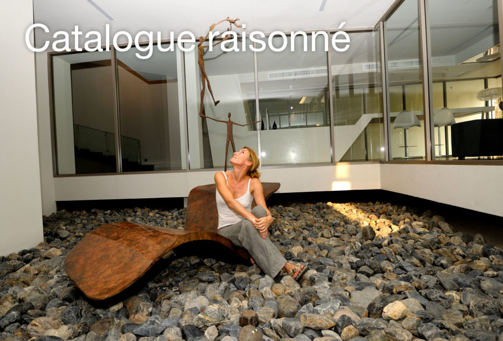 Catalogue raisonné of French sculptor Val - Valérie Goutard - with all bronze and glass sculptures of Val with Sculptureval