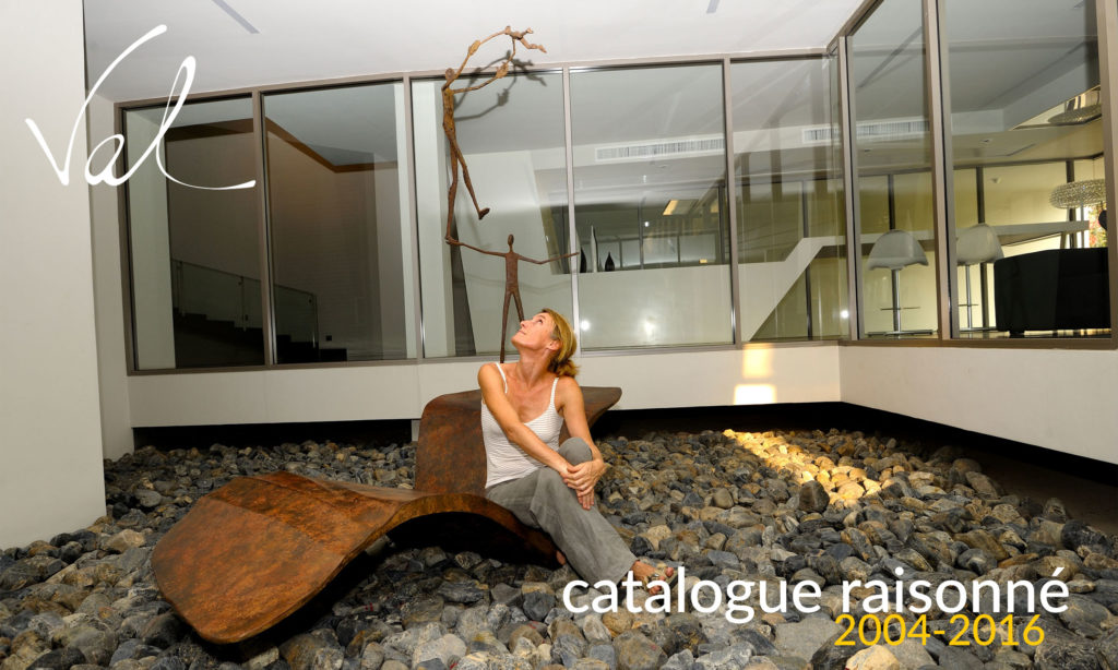 Catalogue raisonné of French sculptor Val - Valérie Goutard