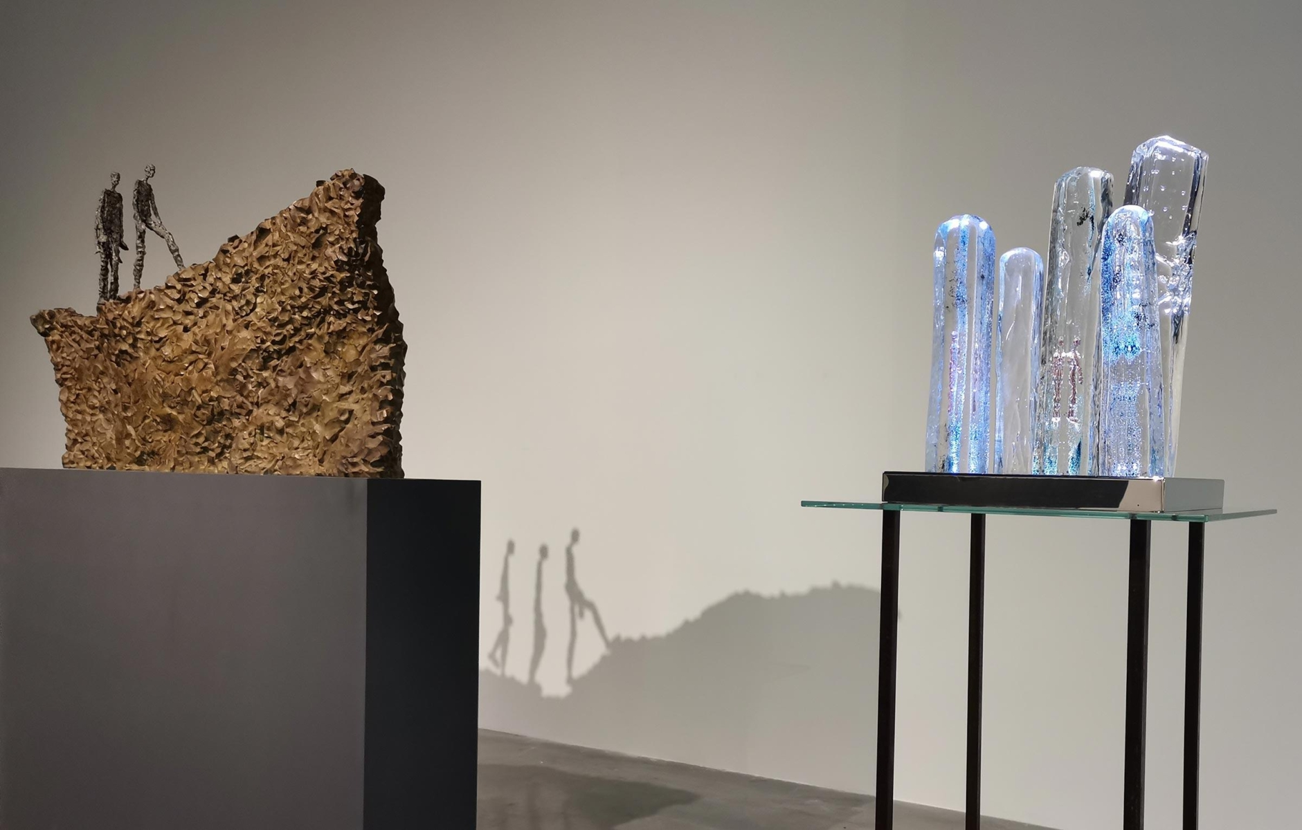 """The Reflection of Infinity"" à S.A.C. Gallery par Linjie Zhou en Février 2021"